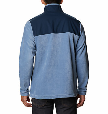 Men's Cottonwood Park Half Snap Fleece Pullover Cottonwood Park™ Half Snap | 370 | XXL, Bluestone, Collegiate Navy, back