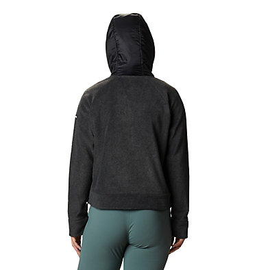 Women's Exploration™ Hooded Full Zip Fleece Jacket Exploration™ Hooded Fleece FZ | 030 | L, Charcoal Heather, back