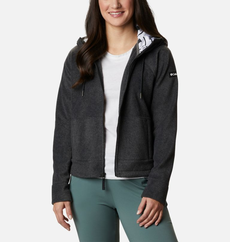 Women's Exploration™ Hooded Full Zip Fleece Jacket Women's Exploration™ Hooded Full Zip Fleece Jacket, front