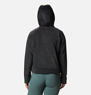 Pile con cappuccio Exploration da donna Exploration™ Hooded Fleece FZ | 030 | L, Charcoal Heather, back
