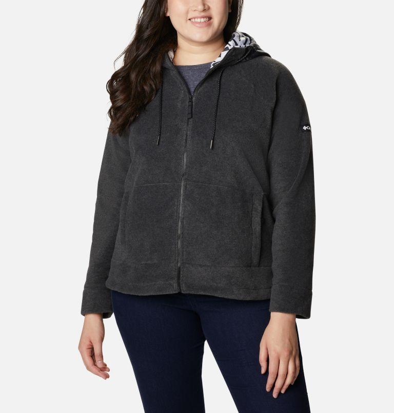 Women's Exploration™ Hooded Full Zip Fleece Jacket - Plus Size Women's Exploration™ Hooded Full Zip Fleece Jacket - Plus Size, a5