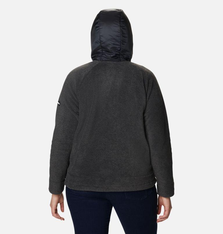 Women's Exploration™ Hooded Full Zip Fleece Jacket - Plus Size Women's Exploration™ Hooded Full Zip Fleece Jacket - Plus Size, back