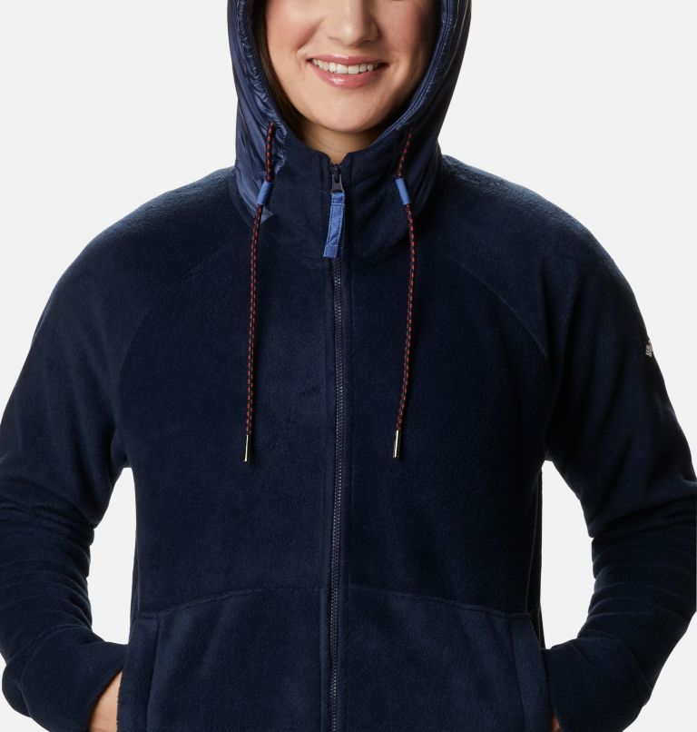 Women's Exploration™ Hooded Full Zip Fleece Jacket - Plus Size Women's Exploration™ Hooded Full Zip Fleece Jacket - Plus Size, a2