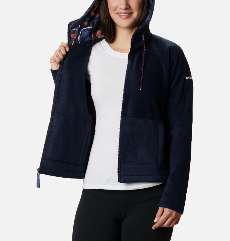 Women's Exploration™ Hooded Full Zip Fleece Jacket - Plus Size Women's Exploration™ Hooded Full Zip Fleece Jacket - Plus Size, a4