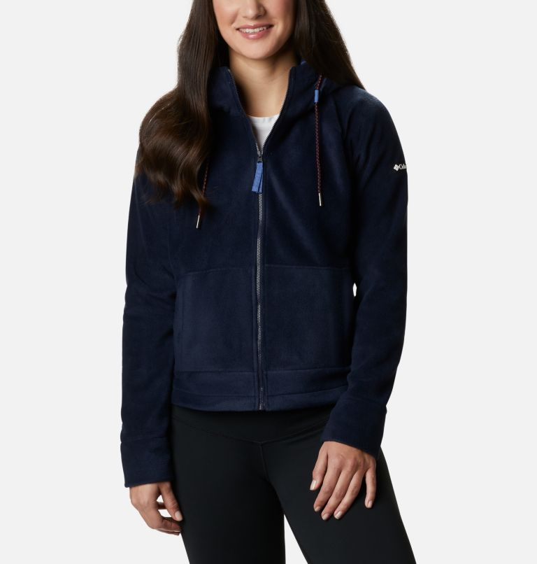 Women's Exploration™ Hooded Full Zip Fleece Jacket - Plus Size Women's Exploration™ Hooded Full Zip Fleece Jacket - Plus Size, front