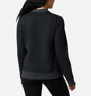 Chandail Columbia Lodge™ pour femme Columbia Lodge™ Pullover | 010 | L, Black, White Typo, back