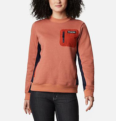Women's Columbia Lodge™ Pullover Sweatshirt Columbia Lodge™ Pullover | 010 | L, Nova Pink, Dark Nocturnal, front