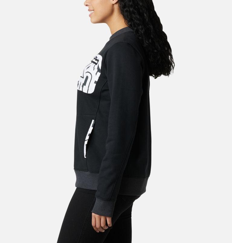 Columbia Lodge™ Pullover | 010 | S Women's Columbia Lodge Pullover Sweatshirt, Black, White Typo, a1