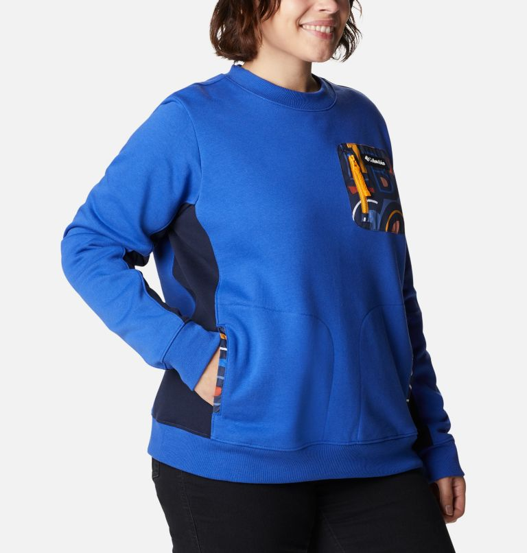 Women's Columbia Lodge™ Pullover Sweatshirt - Plus Size Women's Columbia Lodge™ Pullover Sweatshirt - Plus Size, a3