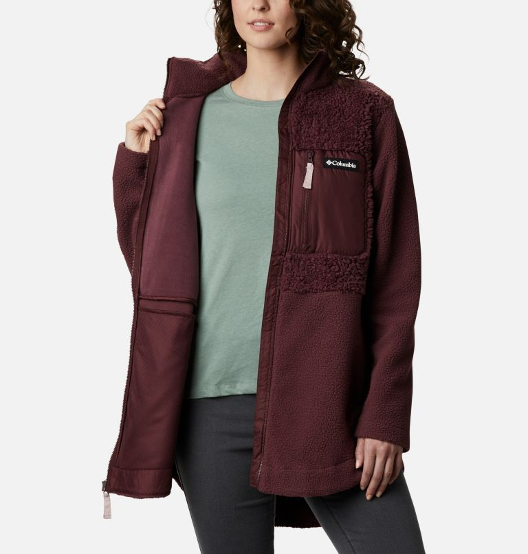 Women's Columbia Lodge™ Sherpa Full Zip Fleece Women's Columbia Lodge™ Sherpa Full Zip Fleece, a3