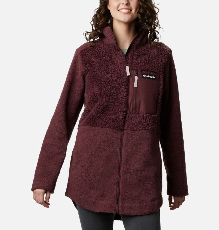 Women's Columbia Lodge™ Sherpa Full Zip Fleece Women's Columbia Lodge™ Sherpa Full Zip Fleece, front