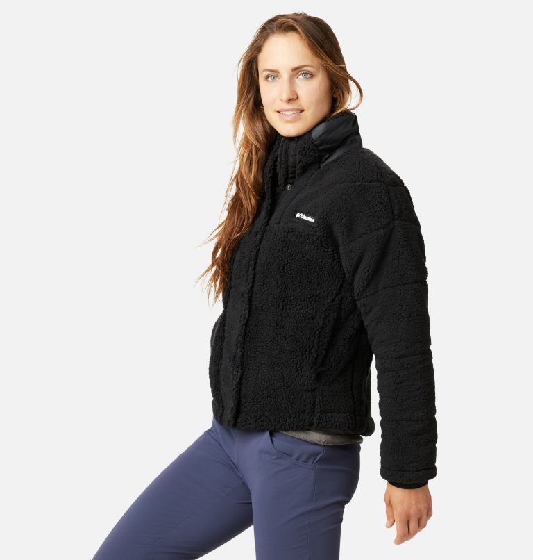 Women's Columbia Lodge™ Baffled Sherpa Fleece Jacket Women's Columbia Lodge™ Baffled Sherpa Fleece Jacket, a1