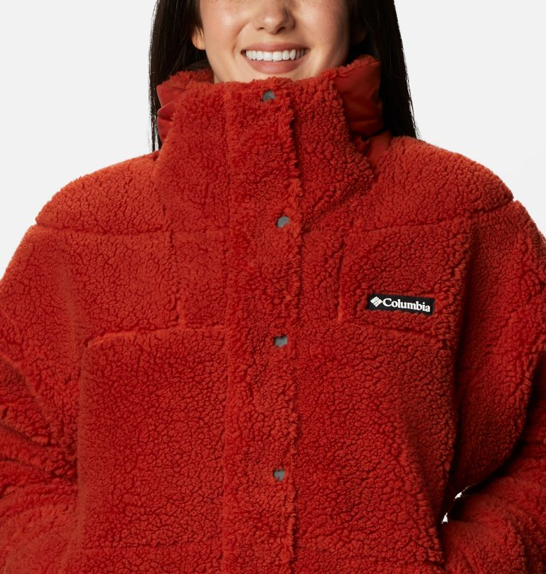 Women's Columbia Lodge Baffled Sherpa Fleece Jacket Women's Columbia Lodge Baffled Sherpa Fleece Jacket, a2