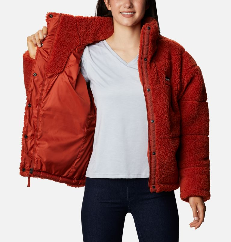 Women's Columbia Lodge Baffled Sherpa Fleece Jacket Women's Columbia Lodge Baffled Sherpa Fleece Jacket, a3