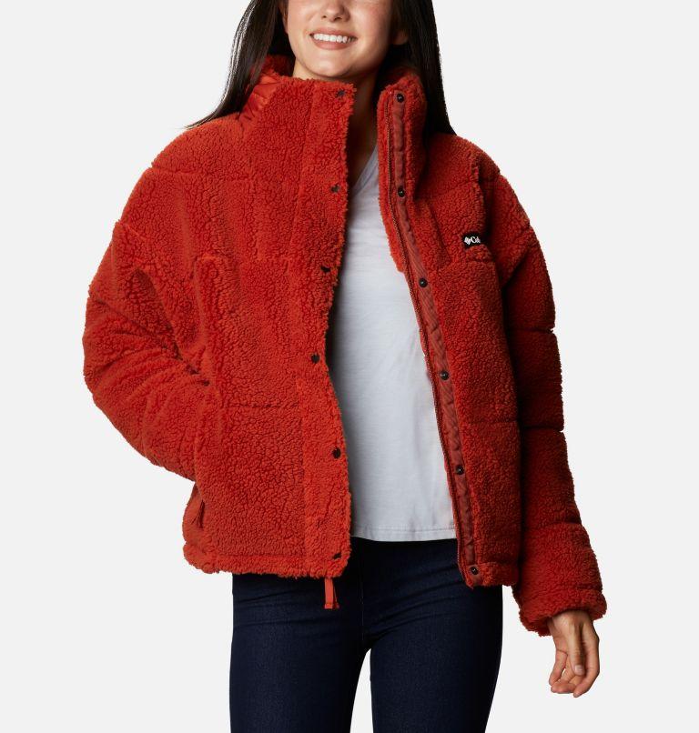Women's Columbia Lodge Baffled Sherpa Fleece Jacket Women's Columbia Lodge Baffled Sherpa Fleece Jacket, front