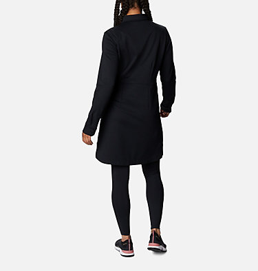Robe en tricot Ponte Butte Hike™ pour femme Butte Hike™ Ponte Dress | 010 | L, Black, back