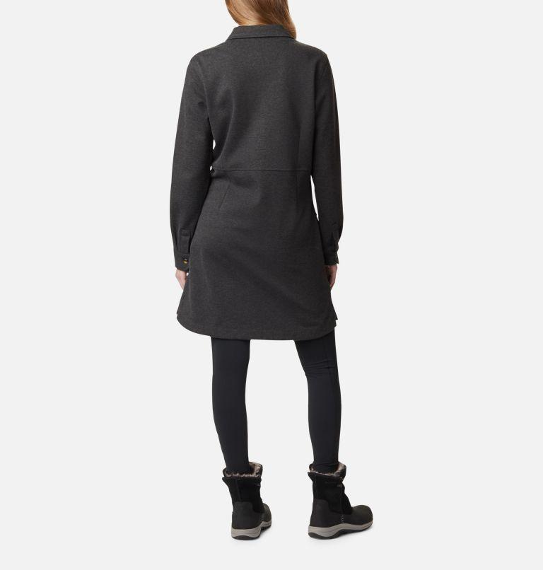 Butte Hike™ Ponte Dress | 011 | S Robe en tricot Ponte Butte Hike™ pour femme, Shark Heather, back