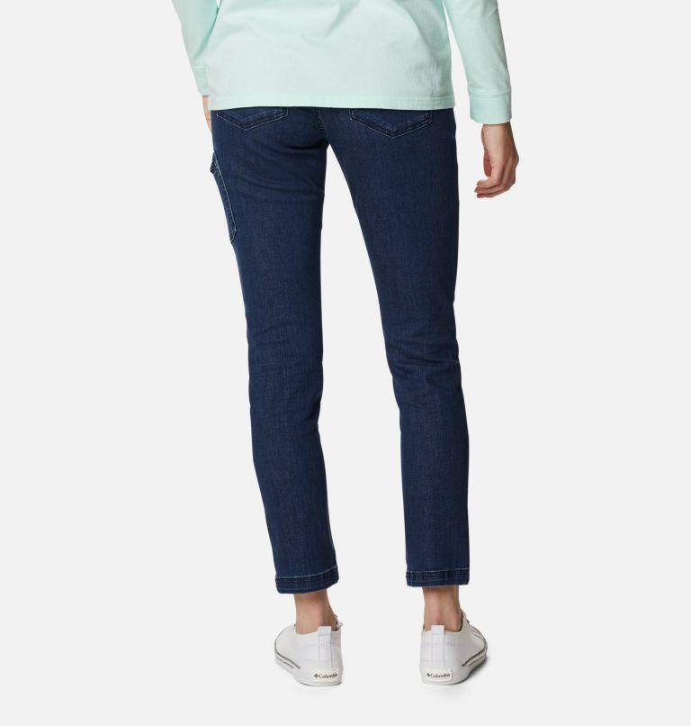 Women's Columbia City™ Denim Cargo Pants Women's Columbia City™ Denim Cargo Pants, back