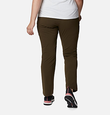Women's Everyday Go To™ Pants - Plus Size Everyday Go To™ Pant | 010 | 1X, Olive Green, back