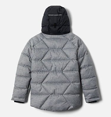 Boys' Winter Powder Quilted Jacket Winter Powder™ Quilted Jacket | 464 | M, Black Heather, back
