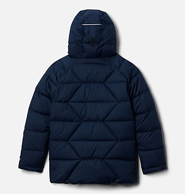 Boys' Winter Powder Quilted Jacket Winter Powder™ Quilted Jacket | 464 | M, Collegiate Navy, back