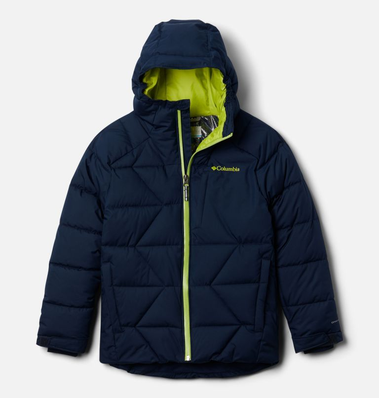 Boys' Winter Powder Quilted Ski Jacket Boys' Winter Powder Quilted Ski Jacket, front
