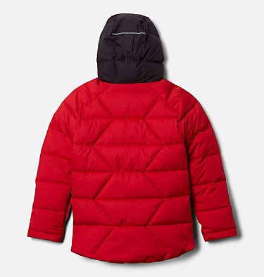 Boys' Winter Powder™ Quilted Jacket Winter Powder™ Quilted Jacket | 464 | M, Mountain Red, Dark Purple, back