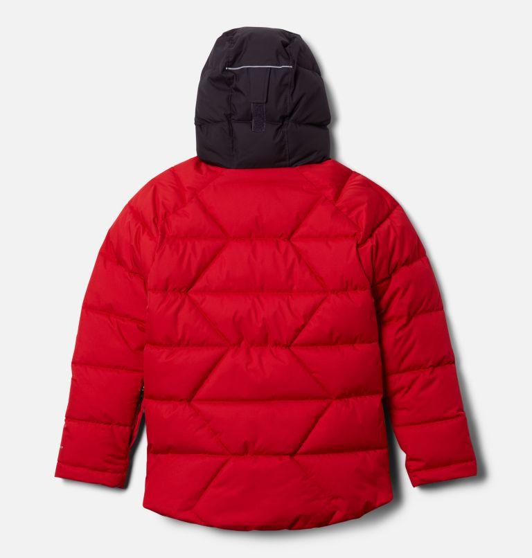 Winter Powder™ Quilted Jacket | 613 | XL Boys' Winter Powder™ Quilted Jacket, Mountain Red, Dark Purple, back