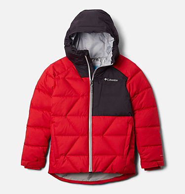 Boys' Winter Powder™ Quilted Jacket Winter Powder™ Quilted Jacket | 464 | M, Mountain Red, Dark Purple, front