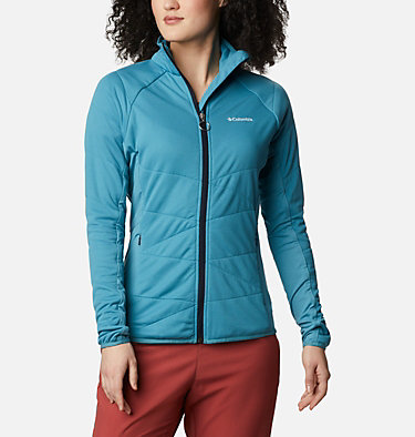 Women's Parkdale Point™ Insulated Full Zip Jacket Parkdale Point™ Insulated Full Zip | 843 | L, Canyon Blue, front
