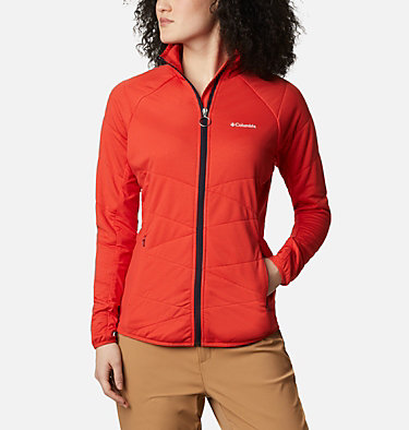 Women's Parkdale Point™ Insulated Full Zip Jacket Parkdale Point™ Insulated Full Zip | 843 | L, Bold Orange, front