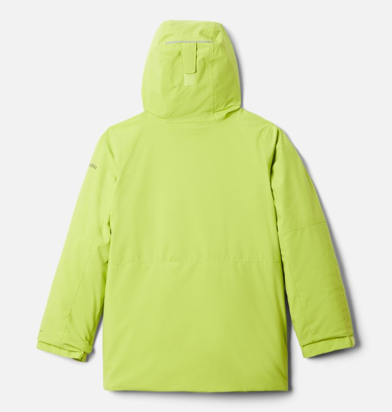 Winter District™ Jacket | 386 | XL Boys' Winter District™ Jacket, Bright Chartreuse, back