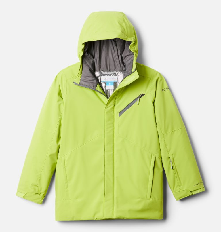 Winter District™ Jacket | 386 | XL Boys' Winter District™ Jacket, Bright Chartreuse, front