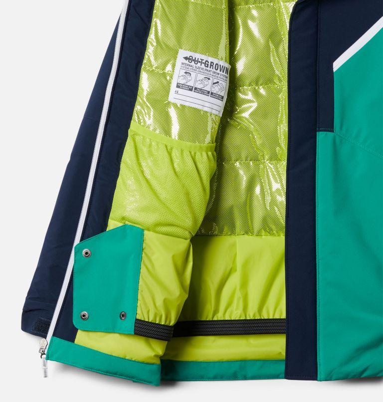 Winter District™ Jacket | 464 | S Boys' Winter District™ Jacket, Collegiate Navy, Bright Emerald, a1