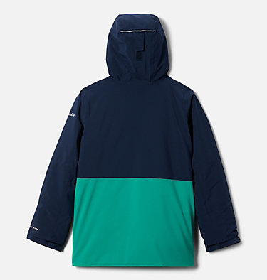 Boys' Winter District™ Jacket Winter District™ Jacket | 464 | XXS, Collegiate Navy, Bright Emerald, back