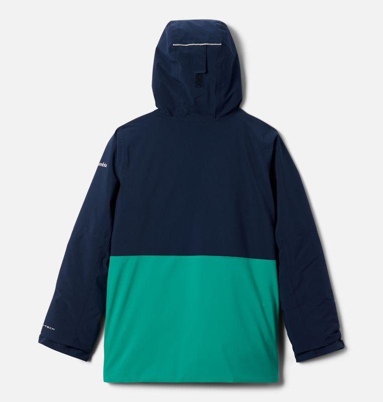 Winter District™ Jacket | 464 | S Boys' Winter District™ Jacket, Collegiate Navy, Bright Emerald, back