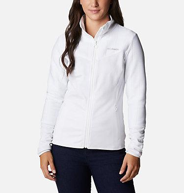 Women's Roffe Ridge II Fleece Jacket Roffe Ridge™ II Full Zip | 100 | L, White, front