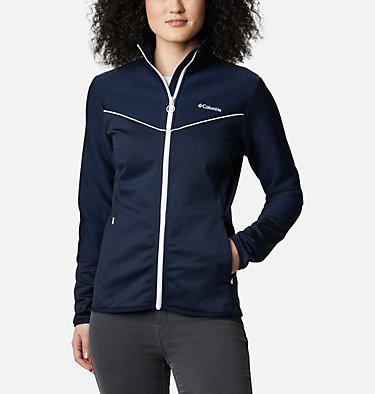 Women's Roffe Ridge II Fleece Jacket Roffe Ridge™ II Full Zip | 100 | L, Dark Nocturnal, White, front