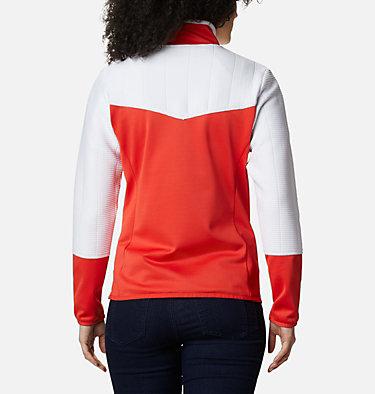 Women's Roffe Ridge II Fleece Jacket Roffe Ridge™ II Full Zip | 100 | L, Bold Orange, White, back