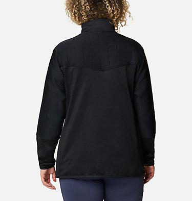 Women's Roffe Ridge™ II Full Zip Fleece Jacket - Plus Size Roffe Ridge™ II Full Zip | 472 | 1X, Black, back