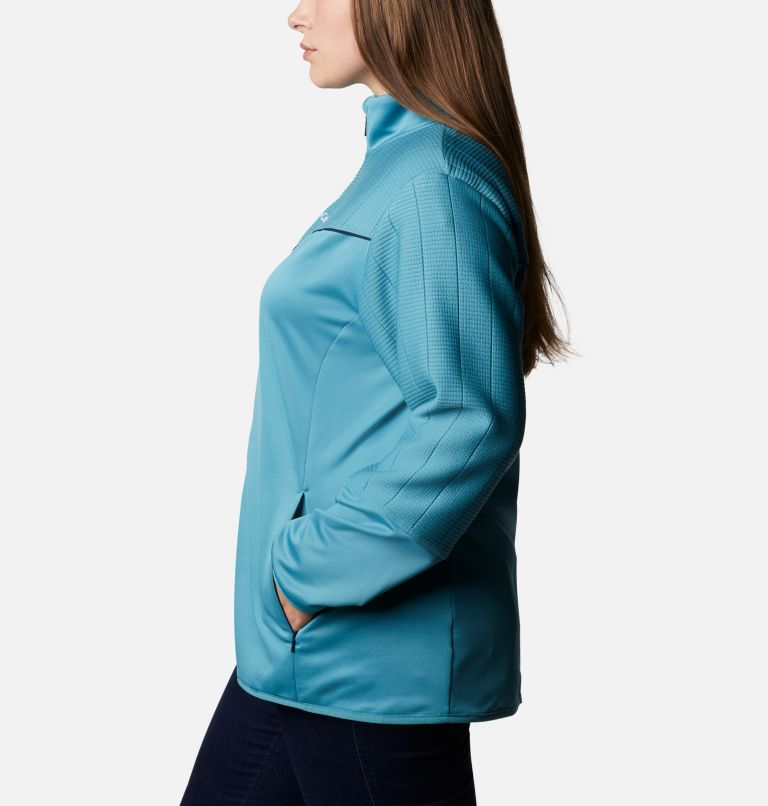 Women's Roffe Ridge™ II Full Zip Fleece Jacket - Plus Size Women's Roffe Ridge™ II Full Zip Fleece Jacket - Plus Size, a1