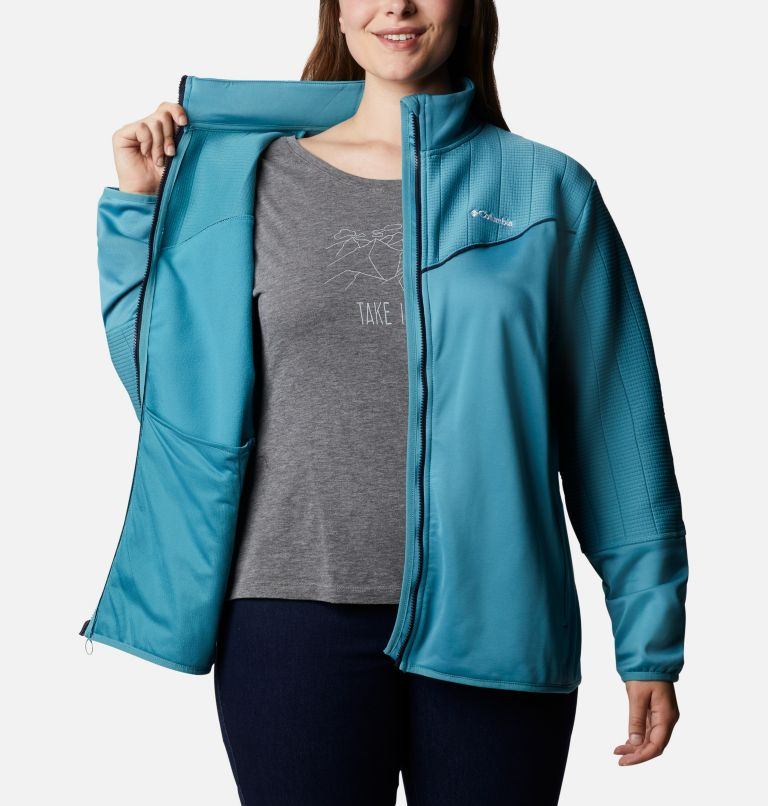 Women's Roffe Ridge™ II Full Zip Fleece Jacket - Plus Size Women's Roffe Ridge™ II Full Zip Fleece Jacket - Plus Size, a3