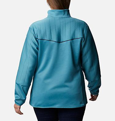 Women's Roffe Ridge™ II Full Zip Fleece Jacket - Plus Size Roffe Ridge™ II Full Zip | 472 | 1X, Canyon Blue, Dark Nocturnal, back