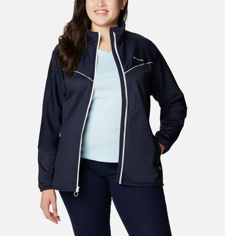 Women's Roffe Ridge™ II Full Zip Fleece Jacket - Plus Size Women's Roffe Ridge™ II Full Zip Fleece Jacket - Plus Size, a4