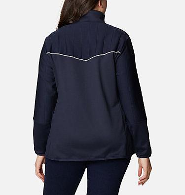 Women's Roffe Ridge™ II Full Zip Fleece Jacket - Plus Size Roffe Ridge™ II Full Zip | 472 | 1X, Dark Nocturnal, White, back