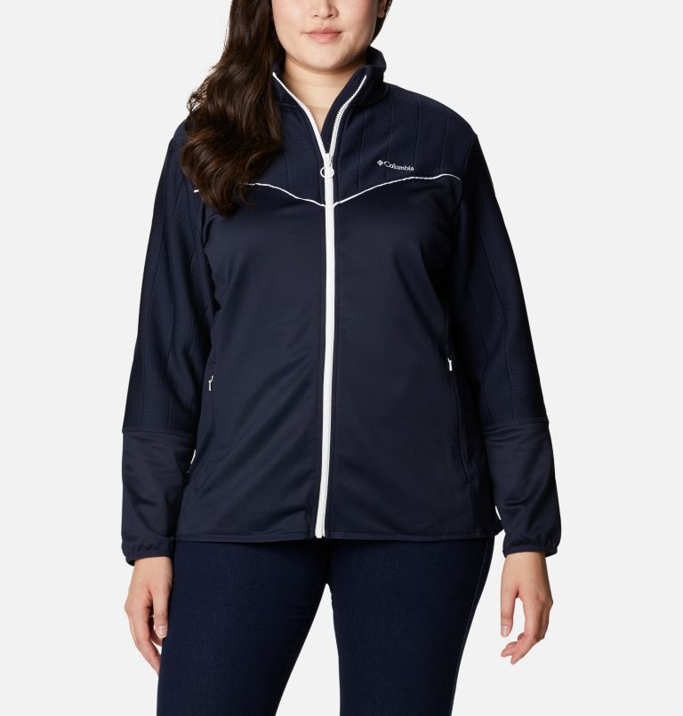 Women's Roffe Ridge™ II Full Zip Fleece Jacket - Plus Size Women's Roffe Ridge™ II Full Zip Fleece Jacket - Plus Size, front