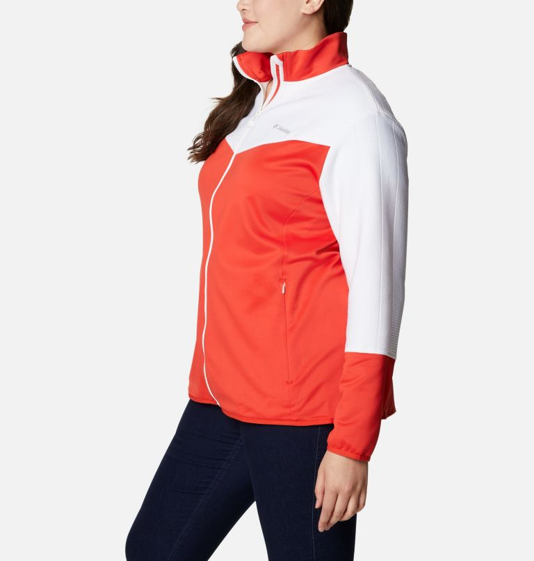 Women's Roffe Ridge™ II Full Zip Fleece Jacket - Plus Size Women's Roffe Ridge™ II Full Zip Fleece Jacket - Plus Size, a1