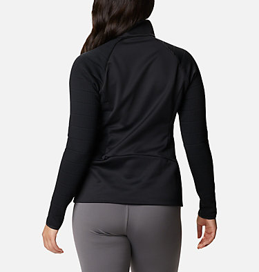 Women's Roffe Ridge™ Half Zip Fleece Roffe Ridge™ 1/2 Zip | 430 | L, Black, back