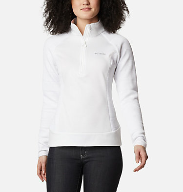Women's Roffe Ridge™ Half Zip Fleece Roffe Ridge™ 1/2 Zip | 430 | L, White, front