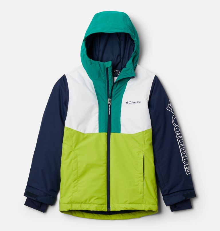 Timber Turner™ Jacket | 100 | M Timber Turner™ Jacket, White, Brt Chrtrse, Coll Navy, Emerald G, front